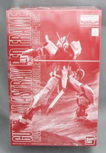 BANDAI Gundam Astray Red Frame Lowe Guele\'s Use Mobile Suit MG 1/100 Model Kit