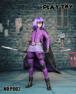 Play toy Purple Girl 1/6 Action Figure P002