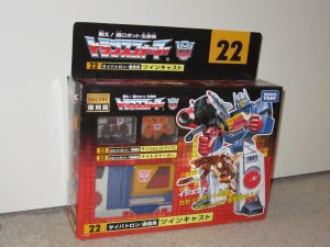 Takara Tomy TRANSFORMERS ENCORE 22 Twin Cast w/ Cassettes Action Figure