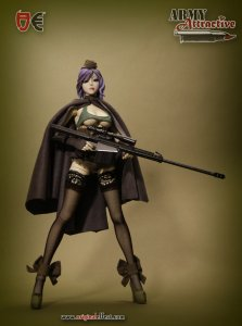 Original effect OE Army Attractive series-Harp (Bullseye) 1/6 Figure