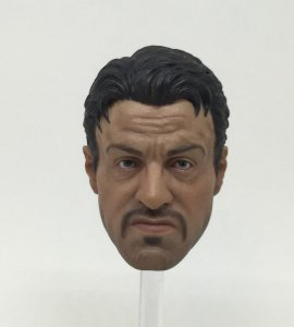 1/6th Scale Custom Sylvester Stallone The Expendables Barney Ross Head Sculpt