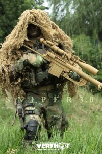 Very Hot US Army Sniper 3.0 Version 1/6 1012