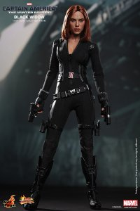 HOT TOYS Captain America Winter Soldier Black Widow Scarlett Johansson 1/6 Fig