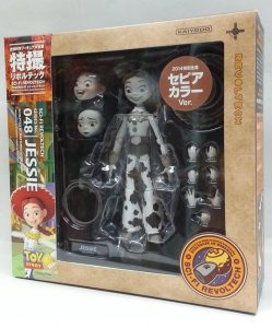 SCI-FI Revoltech Jessie Sepia Ver. Series No.048 Toy Story Disney Action Figure