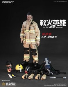 "Enterbay As The Light Goes Out Fireman Chiu Shawn Yue 12"" Figure IN STOCK"