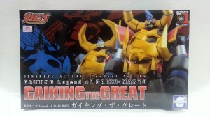 Evolution Toy Gaiking Legend of Daiku-Maryu No.15 Dynamite Action Figure Diecast