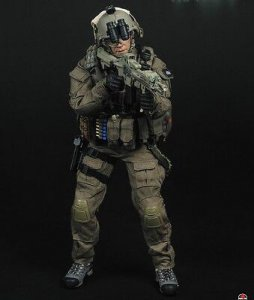 1/6 Soldier Story SS067 US FBI HRT Hostage Rescue Team