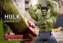 Hot Toys 1/6 MMS287 Avengers Age of Ultron Hulk Deluxe Collectible Set
