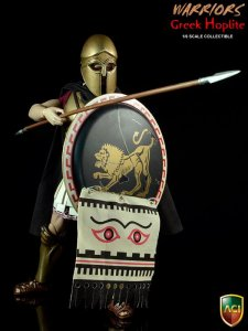 1/6 Scale ACI Toys ACI17A Warriors - Greek Hoplite Bronze Helmet Ver - A