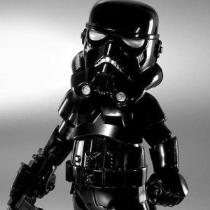 STAR WARS STORMTROOPER SHADOW HYBRID METAL HMF #005S HEROCROSS FIGURE PA AQ5218