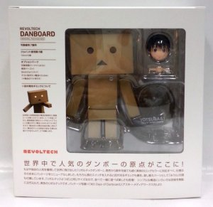 "Kaiyodo Revoltech Danboard 5"" Action Figure Renewal Package Box Yotsuba"