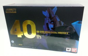 Bandai GX-31V Voltes V 40th Anniversary Diecast Action Figure Soul of Chogokin
