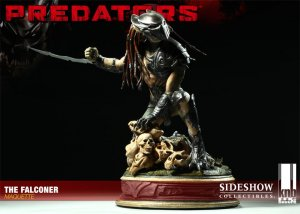 Sideshow The Falconer Predators Maquette Statue