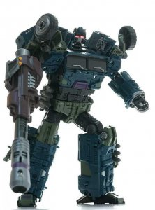 Warbotron Transformers WB01-E Bruticus Fierce Attack Figure