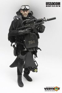Very Hot USSOCOM NAVY SEAL UDT 1/6 Action Figure