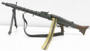 "DRAGON WWII German MG-42 Machine Gun 1/6 Fit for 12"" acton figure"