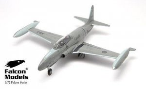 FA722018 Canadian CT-133 /T-33 Silver Star Falcon Models 1:72 diecast model