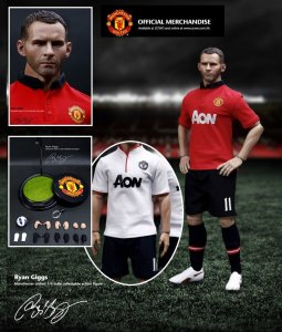 ZCWO ACG 2013 Exclusive Football Star Manchester United Ryan Giggs 1/6 Figure