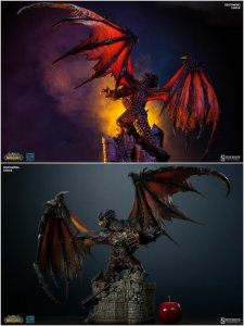 "Sideshow World of Warcraft 25.5"" Deathwing Polystone Statue - DEPOSIT - Q4 2015"