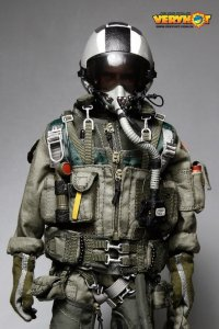 VERY HOT U.S. NAVY VFA-154 Black Knights Pilot Set 1/6