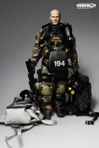 Very Hot U.S. NAVY SEAL HALO UDT JUMPER CAMO DRY SUIT 1/6 Action Figure