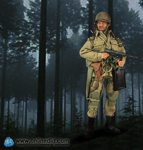 1/6 80054 DID WWII US 82nd Airborne Division Edward Stiner