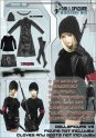 CC98 1/6 DOLLSFIGURE Female Long Coat Full set-Fits HOT TOYS/CY COOL GIRL/CG/TTL