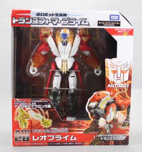 Takara Tomy TRANSFORMERS PRIME ARMS MICRON AM-28 Leo Prime Voyager Class Figure