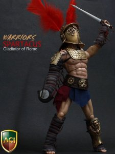 ACI 1/6th Scale Spartacus Gladiator of Rome 2 Andy Whitfield Figure ACI-12