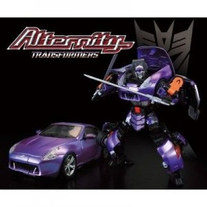 Takara Transformers Alternity A-02G Nissan Fairlady Z Galvatron Asia Exclusive