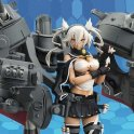 KANTAI COLLECTION MUSASHI KAI GUNDAM ARMOR GIRLS PROJECT AGP FIGURE PA AQ5601