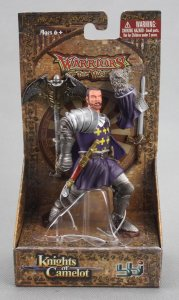 BBI Warriors of the World Knights of Camelot Sir Galahad 1/18 Figure 000818