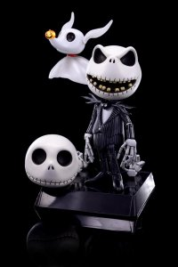 JACK SKELLINGTON ZERO HYBRID METAL HMF #008 HERO HEROCROSS FIGURE SA AQ5223