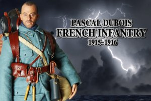 DID WWI French Infantry 1915-1916 Pascal Dubois 1/6 Figure