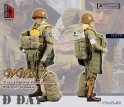 FIGURE HOME WWII Normandy D-DAY US 101st Airborne Paratrooper 1/6 Figure