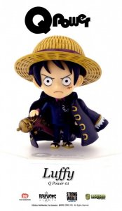 Q Power 001 One Piece Strong World Monkey D Luffy PAINTED PVC Figure