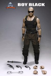 Art-figures Boy Black Vin Diesel 1/6 FIGURE AF-018