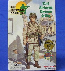 21st Century Toys: Ultimate Soldier WWII US 82nd Airborne Division D-Day (NIB)