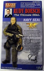 BBI Elite Force US NAVY Ultimate SEAL Rudy Boesch 1/6 Figure (NO BOX)
