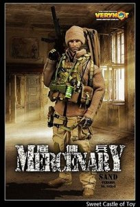 1/6 Very Hot Military Set - Mercenary Sand Ver.