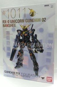 Bandai GFF RX-0 Unicorn #1011 Gundam 02 Banshee Fix Figuration Metal Composite