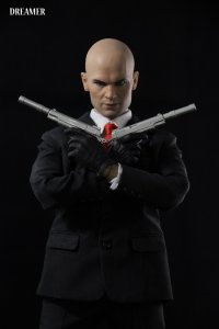 DREAMER Hitman Codename Killer 47 1/6 Action Figure