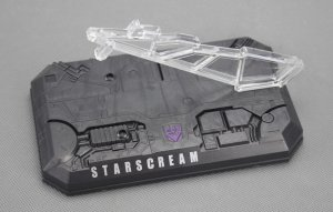 TRANSFORMERS Figure Base Stand Fit for Masterpiece MP11 Starscream