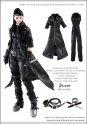 CC261 1/6 DOLLSFIGURE Female Dark Tool Equipment Uniform Full HOT TOYS,KUMIK