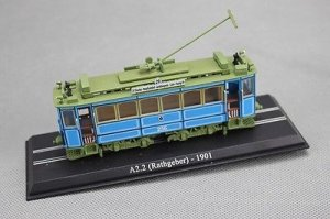 Atlas A2.2 (Rathgeber) 1901 Tram 1/87 Diecast Model
