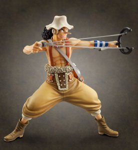 Megahouse One Piece POP The New World Sailing Again USOPP PVC Figure