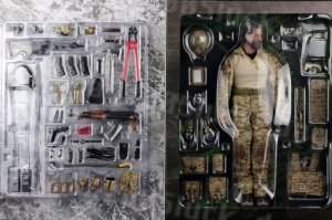 1:6 scale DAMTOYS ELITE SERIES DEVGRU Operation Neptune Spear GERONIMO DAM