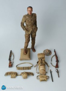 AMERICAN INFANTRYMAN AMERICAN EXPEDITIONARY FORCE 1917 Buck Jones 1/6 Figure
