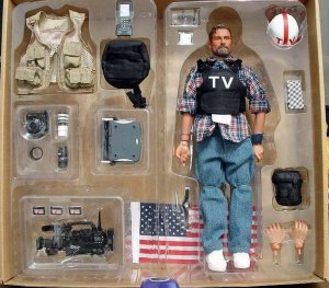 BBI Chronicle Collectibles 1/6 War Journalist Action Figure and Accessories(MIB)