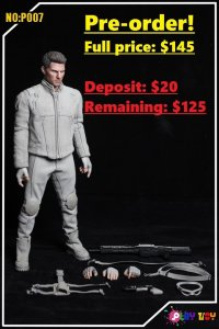 PLAY TOY P007 1/6 scale Maintenance Technician figure (Pre-order deposit)